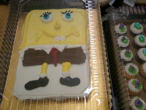spongebob cake wreck #2: the sinister edition